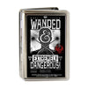 Business Card Holder - LARGE - FANTASTIC BEASTS AND WHERE TO FIND THEM Bust Silhouette WANDED & EXTREMELY DANGEROUS FCG Black White Red