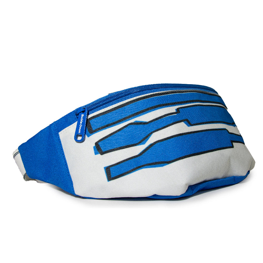 Fanny Pack - Star Wars R2-D2 Bounding White Blue Grays Red