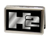 Business Card Holder - LARGE - H2 FCG Black Silver