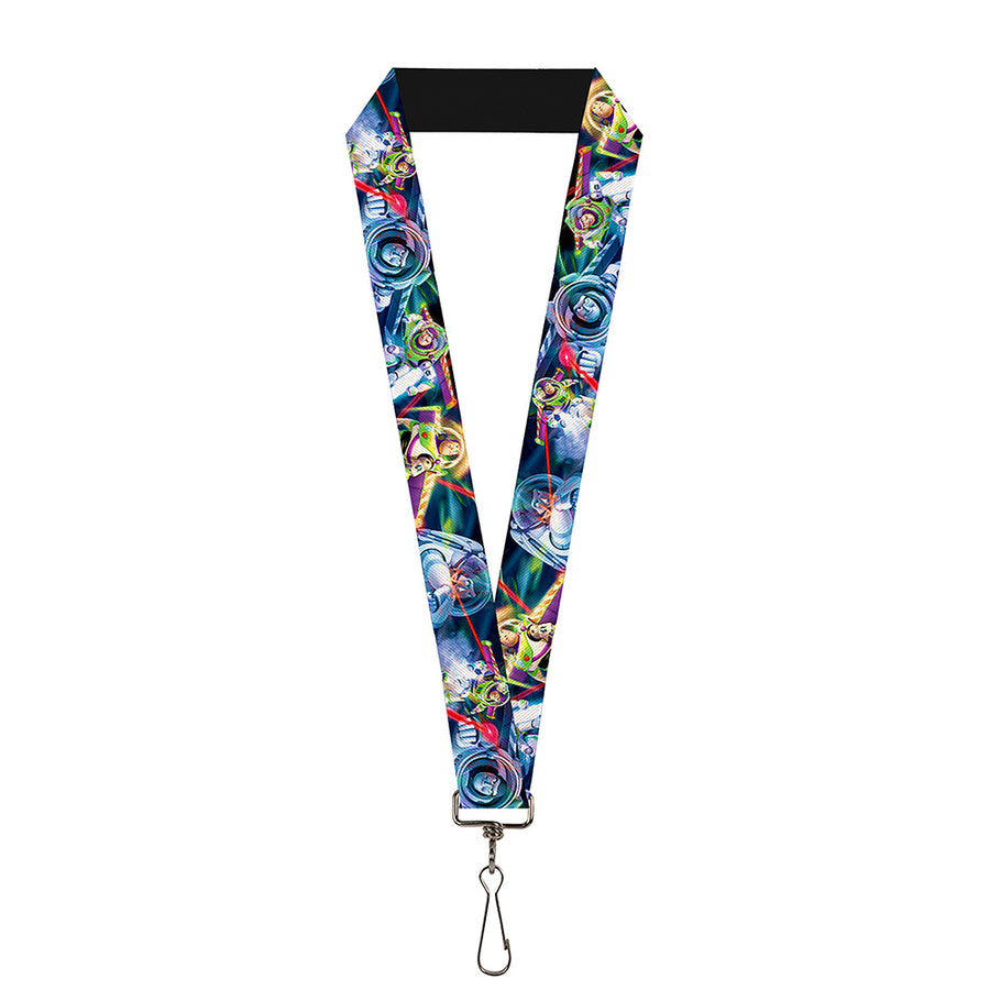 "Lanyard - 1.0"" - Buzz Lightyear Action Poses Stacked"