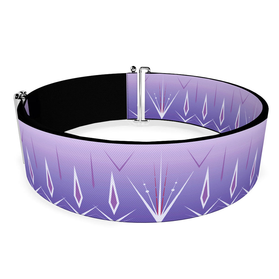 Cinch Waist Belt - Frozen II Elsa Bounding Purples White