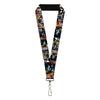 "MARVEL UNIVERSE Lanyard - 1.0"" - Venom Comic Book Panels"