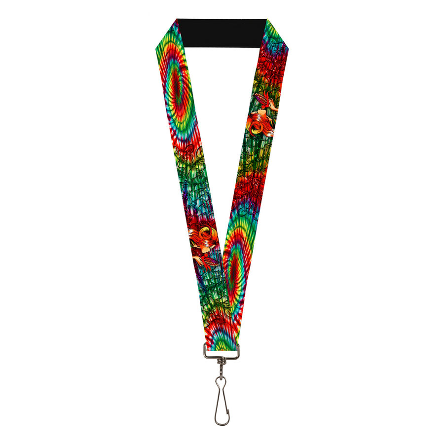 "Lanyard - 1.0"" - Tattoo Johnny-Bird Kiss"