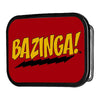 BAZINGA! FCG Red Gold Black - Chrome Rock Star Buckle