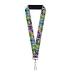 "Lanyard - 1.0"" - Monsters University Character Lineup Gray"