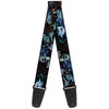Guitar Strap - Nightmare Before Christmas Jack, Oogie Boogie, Santa Scene