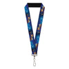 "Lanyard - 1.0"" - Aladdin 2019 A WHOLE NEW WORLD Magic Carpet Ride Scene"