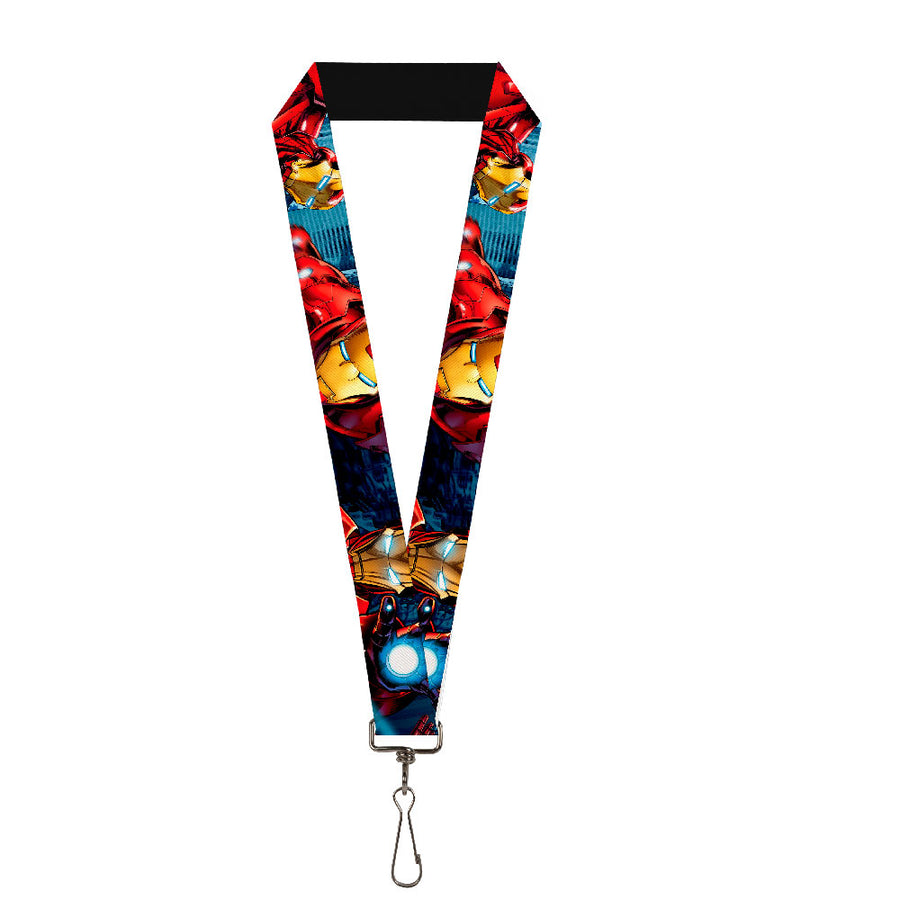 "MARVEL AVENGERS Lanyard - 1.0"" - Iron Man Action1"