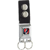 Keychain - Steal Your Face Black Full Color - Black Webbing