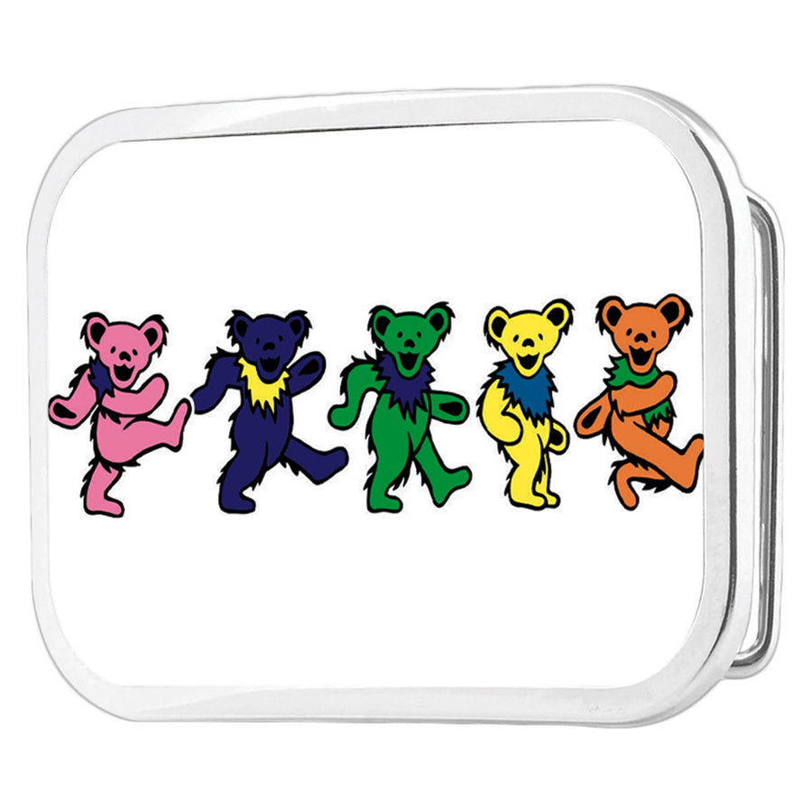 Dancing Bears FCG Black Multi Color - Chrome Rock Star Buckle