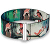 Cinch Waist Belt - Sleeping Beauty Woods Scenes