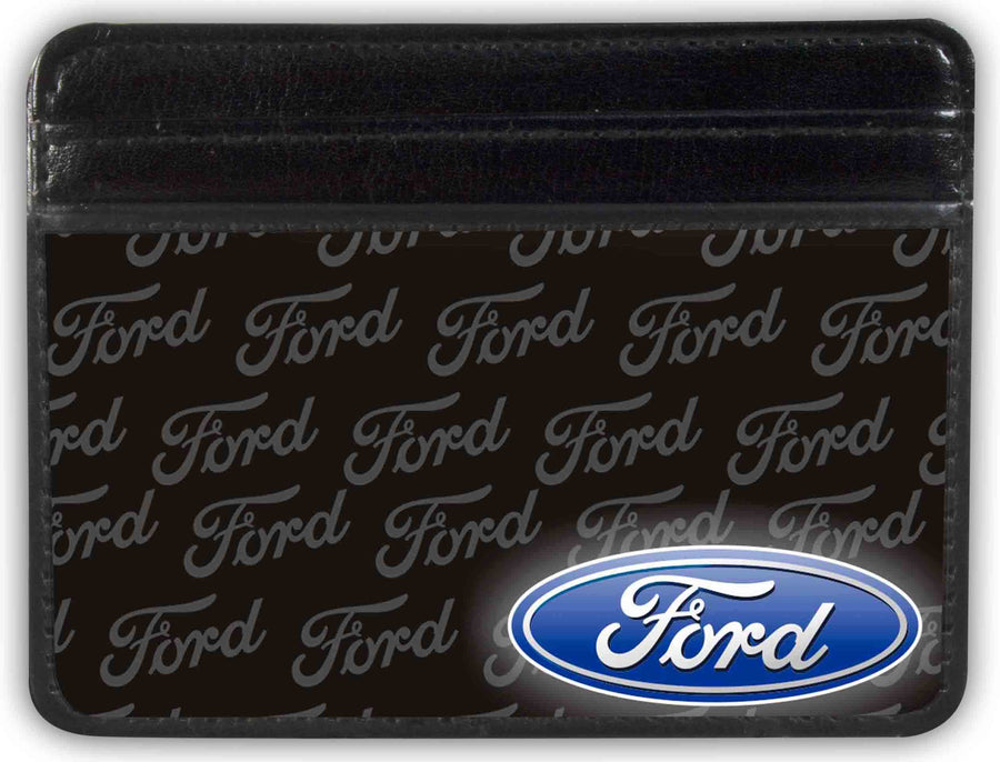 Weekend Wallet - Ford Oval CORNER w Text