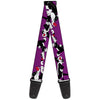 Guitar Strap - Sylvester the Cat Poses Purple
