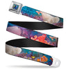 Dory Pose Full Color Seatbelt Belt - Dory & 5-Friends Under the Sea Webbing