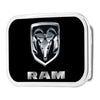 Ram Framed FCG Black Silver - Chrome Rock Star Buckle