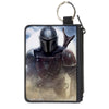 Canvas Zipper Wallet - MINI X-SMALL -Star Wars The Mandalorian Vivid Pose