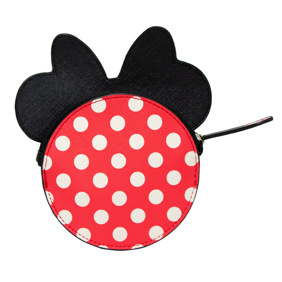 Women's Zip Coin Purse - Minnie Mouse Smiling Face