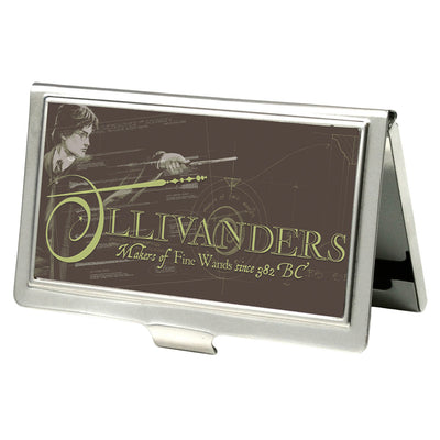 Business Card Holder - SMALL - Harry Potter OLLIVANDERS-MAKERS OF FINE WANDS FCG