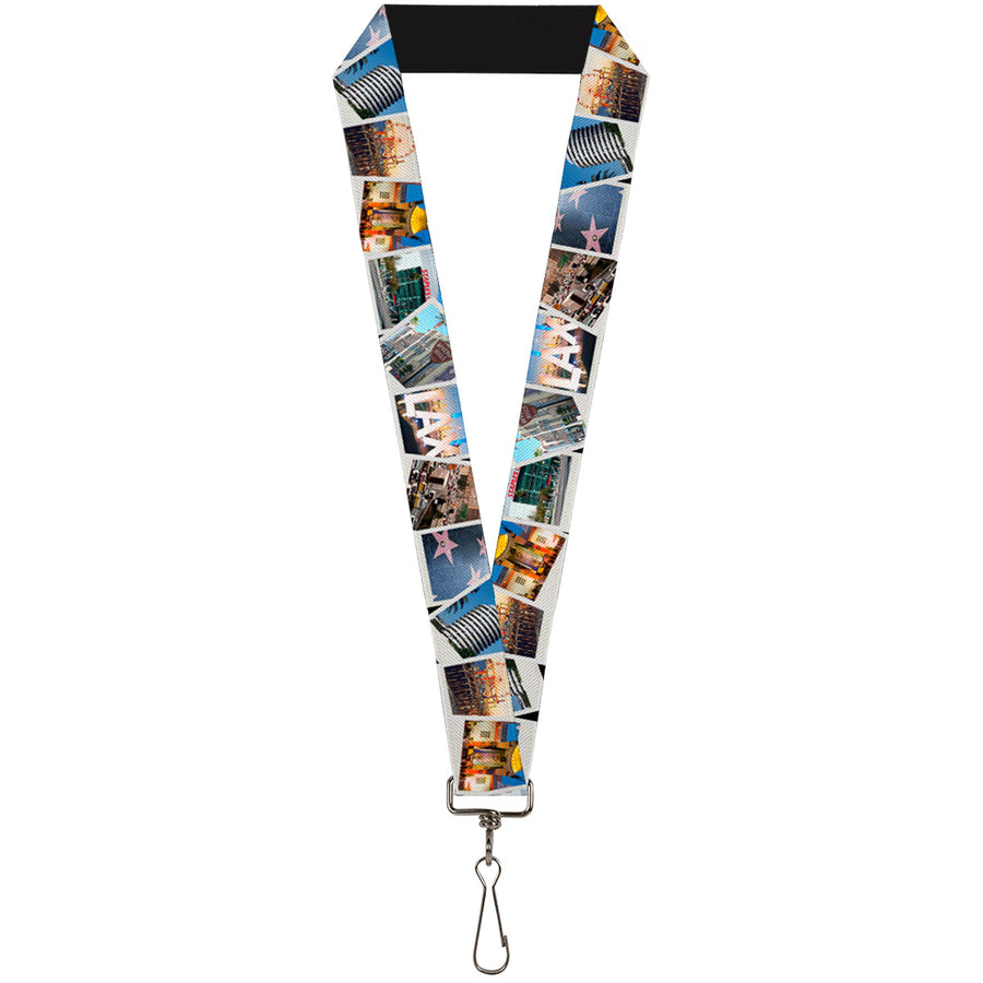 "Lanyard - 1.0"" - Vivid Los Angeles Snapshots Stacked"