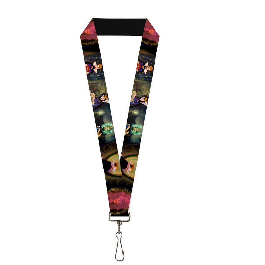 "Lanyard - 1.0"" - Snow White Evil Queen Poses"