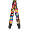 Guitar Strap - Disney Princess Blocks