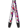 Guitar Strap - Sylvester the Cat Expressions Purple