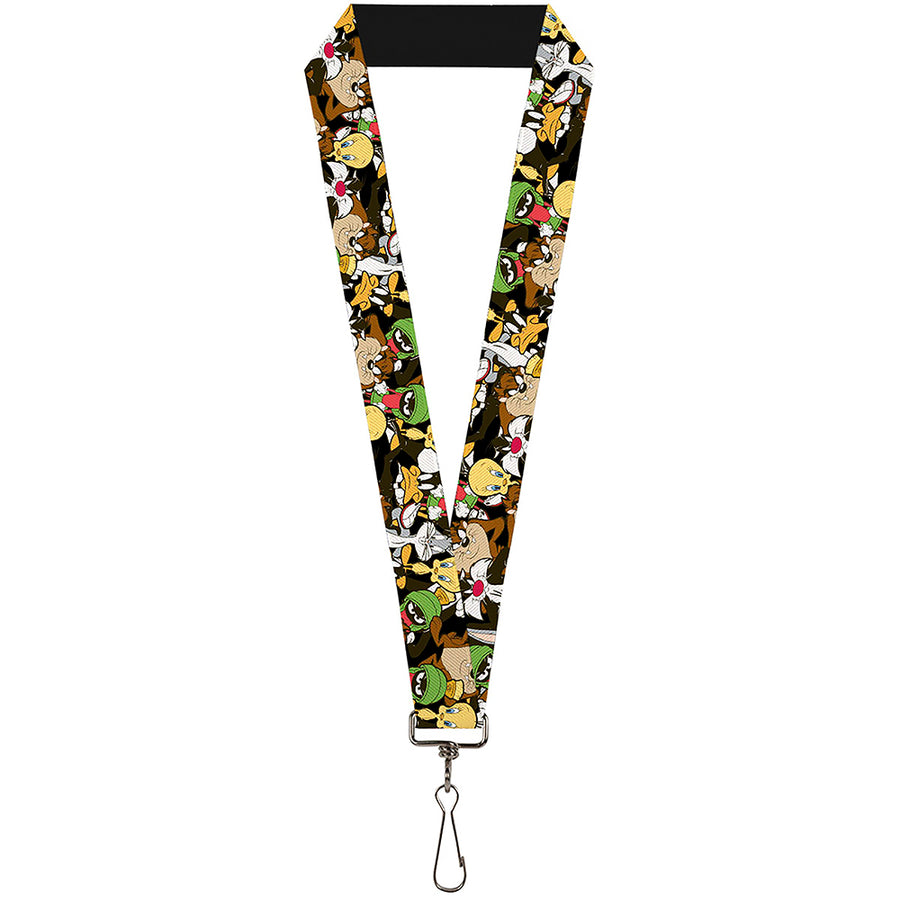 "Lanyard - 1.0"" - Looney Tunes 6-Character Stacked Collage4"