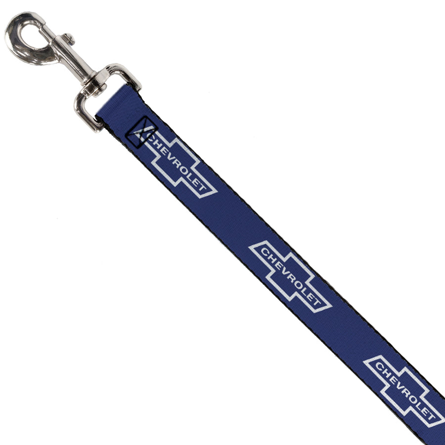Dog Leash - 1965 CHEVROLET Bowtie Blue/White