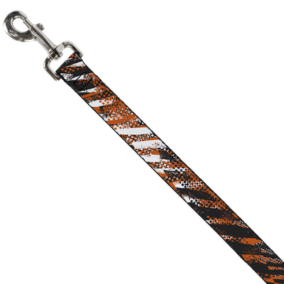 Dog Leash - Grunge Tread Orange