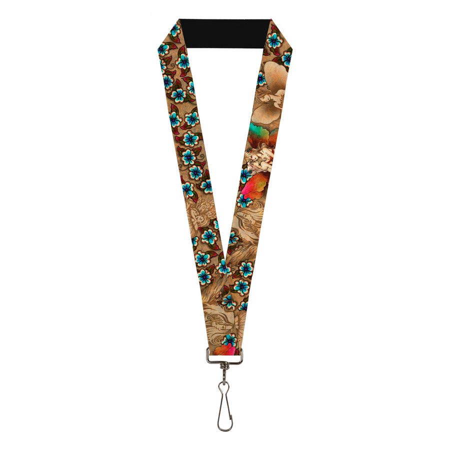 "Lanyard - 1.0"" - Tattoo Johnny-Fairies"