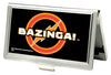Business Card Holder - SMALL - BAZINGA! Logo FCG Black