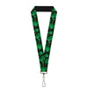 "MARVEL COMICS Lanyard - 1.0"" - The Hulk Stacked"