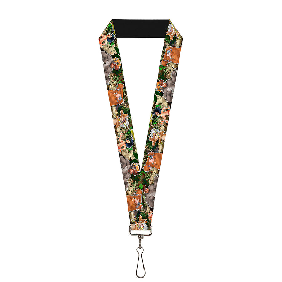 "Lanyard - 1.0"" - The Jungle Book I Wanna Be Like You 4-Character Scene"