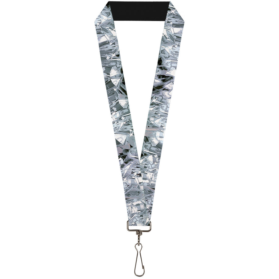 "Lanyard - 1.0"" - Crystals3 Clear"