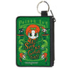 Canvas Zipper Wallet - MINI X-SMALL - Chibi POISON IVY AND THE SIRENS OF GOTHAM CITY Ivy Greens
