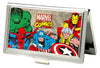 MARVEL COMICS Business Card Holder - SMALL - Marvel Comics Logo w Characters FCG