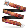 Timon Hula Pose Full Color Seatbelt Belt - Timon & Pumba The Hula Song Poses Webbing