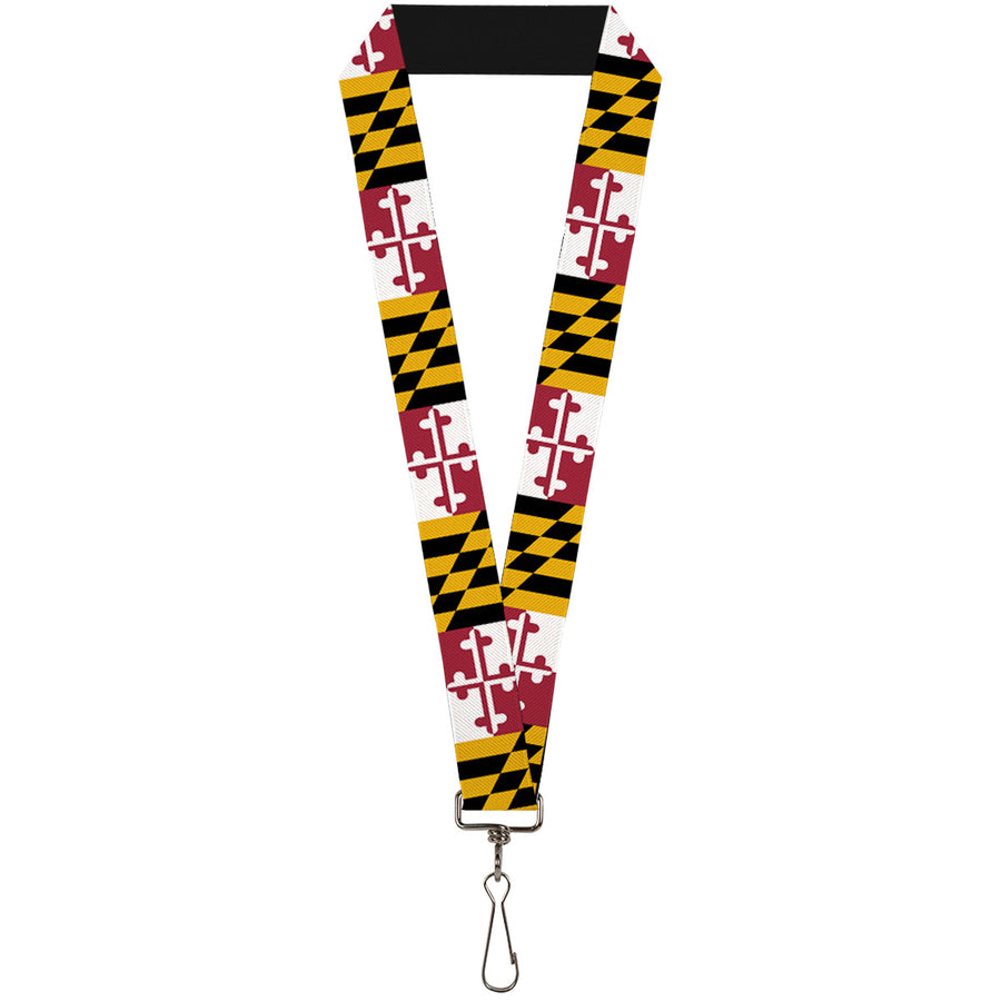 "Lanyard - 1.0"" - Maryland Flags"