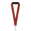 "MARVEL COMICS Lanyard - 1.0"" - Spider-Man Stacked"