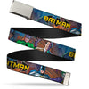 Chrome Buckle Web Belt - BATMAN & Villains2/Cityscape Webbing
