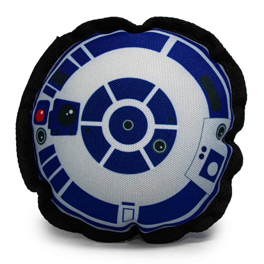 Dog Toy Squeaky Plush - Star Wars R2-D2 Head Top View