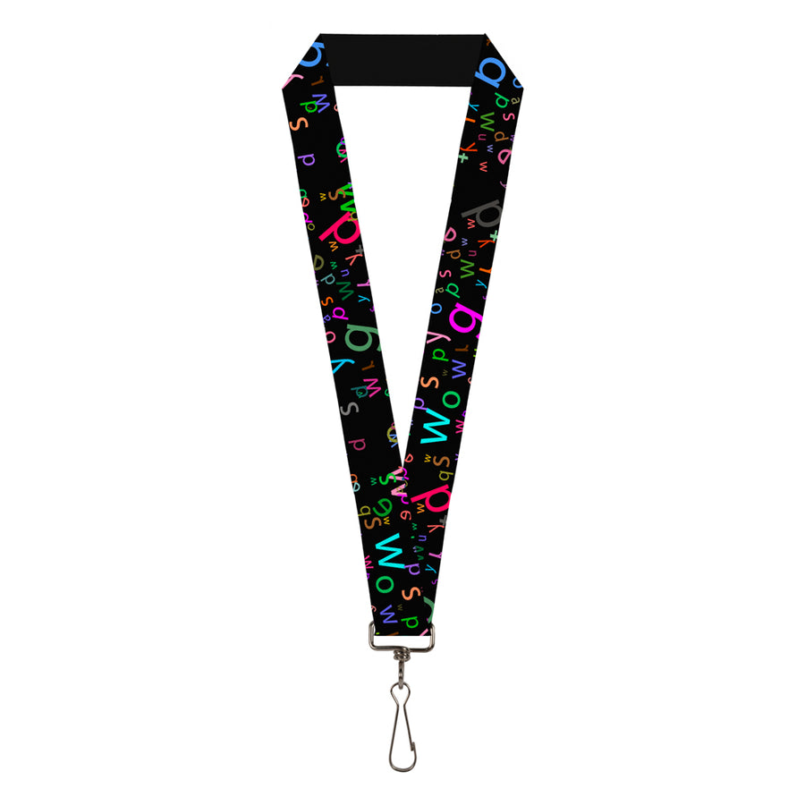 "Lanyard - 1.0"" - Stargazer Black Multi Color"