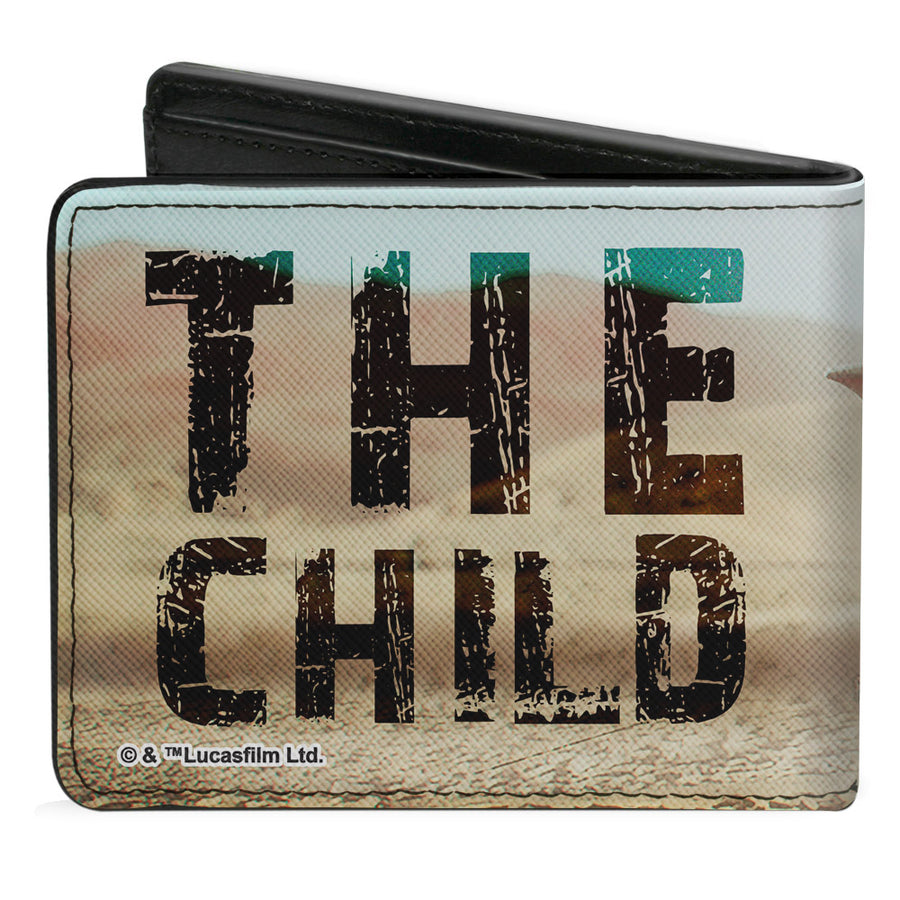 Bi-Fold Wallet - Star Wars THE CHILD Full Body Pose Vivid