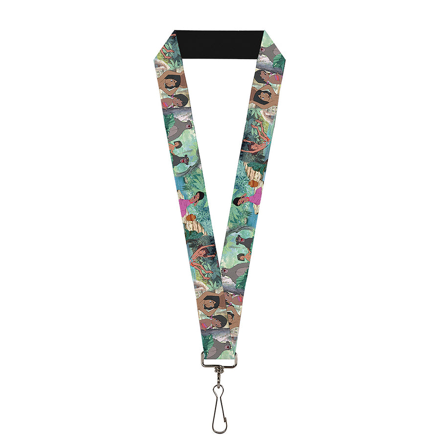 "Lanyard - 1.0"" - The Jungle Book Scenes"