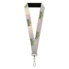 "Lanyard - 1.0"" - SEE AMERICA-SEE YELLOWSTONE NATIONAL PARK Geyser Steam Blue Yellow"