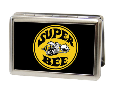 Business Card Holder - LARGE - SUPER BEE Logo FCG Black Yellow White