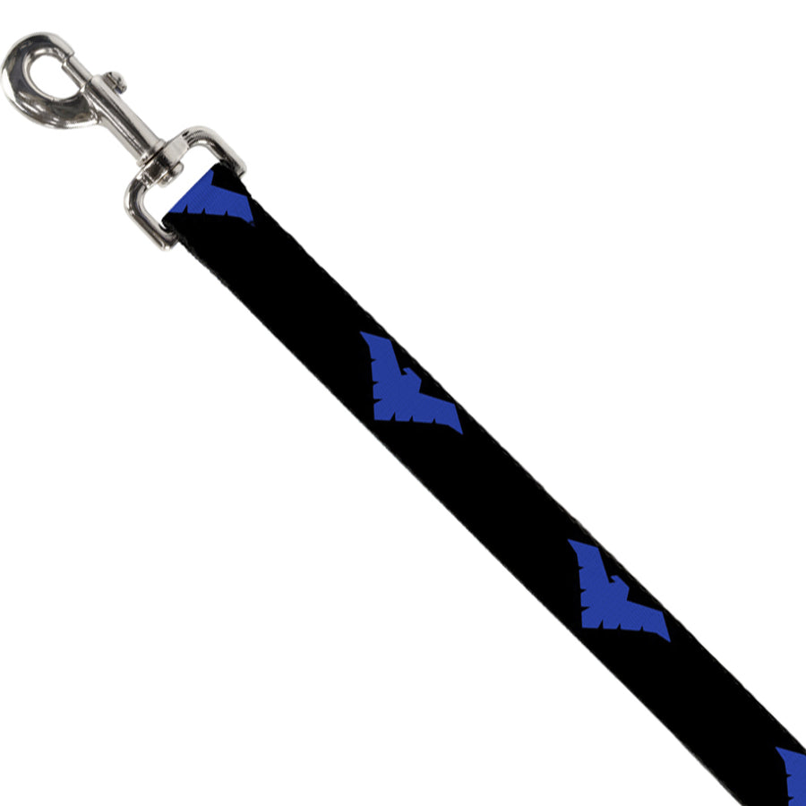 Dog Leash - Nightwing Logo Black/Blue
