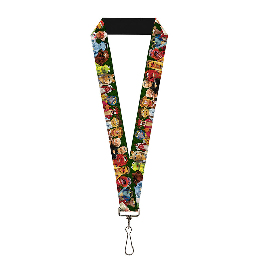 "Lanyard - 1.0"" - Muppets 20-Character Group Pose Greens"