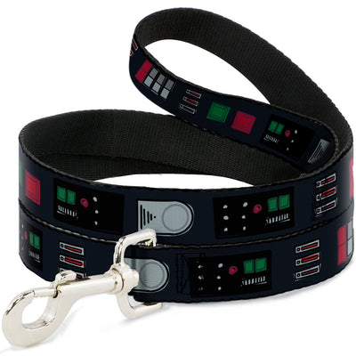 Dog Leash - Star Wars Darth Vader Utility Belt Bounding3 Black/Grays/Reds/Greens