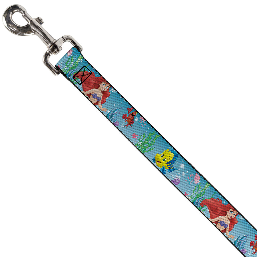 Dog Leash - Ariel, Sebastian & Flounder Scene2
